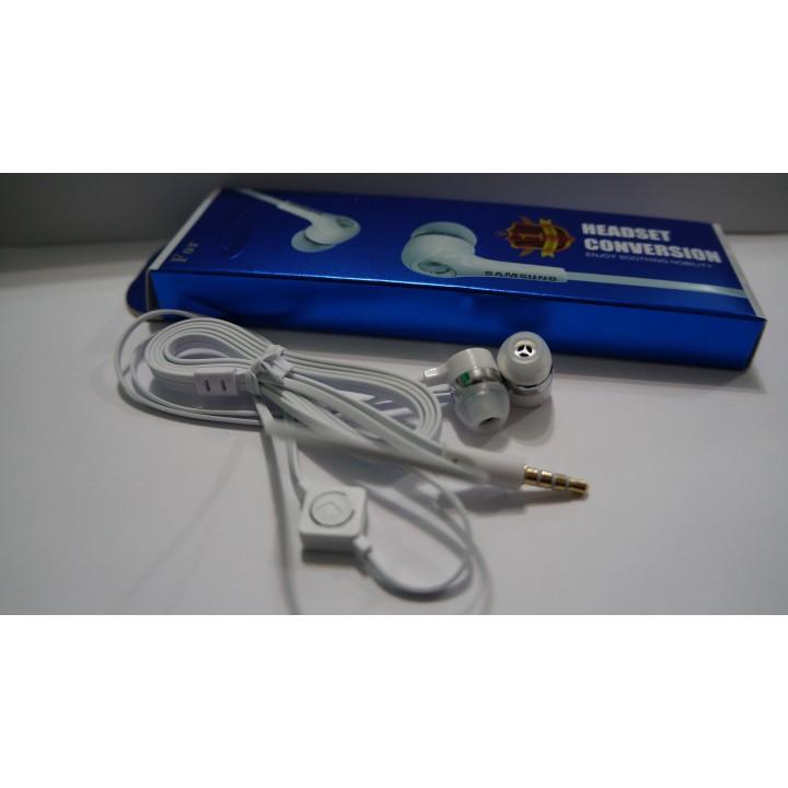 Наушники  вакуумные с микрофоном For-samsung