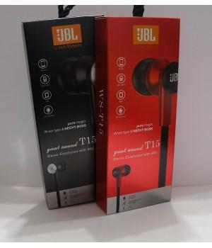 Наушники вакуумные JBL T15