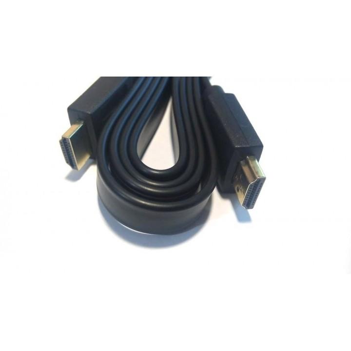 Кабель HDMI плоский 3m