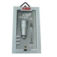 Автомобильное Зарядное Устройство Soloffer C211 3,4A 2XUSB + КАБЕЛЬ MICRO USB