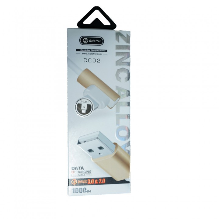 Кабель USB Soloffer CC02 Type-C
