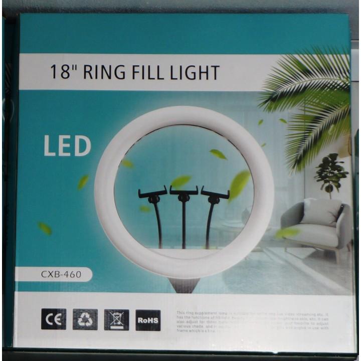Кольцевая лампа для профессиональной съемки Ring Fill Light CXB-460 46 cm