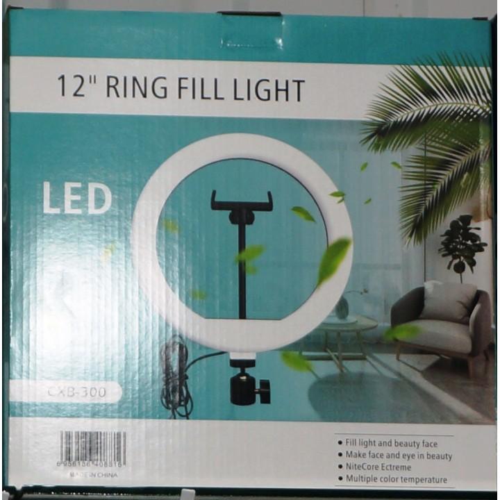 Кольцевая лампа для профессиональной съемки Ring Fill Light CXB-30 30 cm