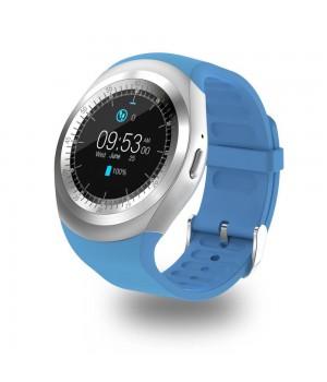 Смарт часы  Y1X с функцией фитнес-браслета blue