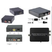 Конвертер звука Digital to analog Audio (оптический ,цифровой преобразователь c телевизора в аналог)
