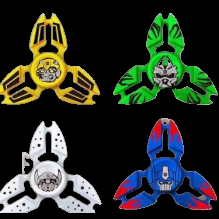 Спиннер  супергерои трансформеры металлический spiner