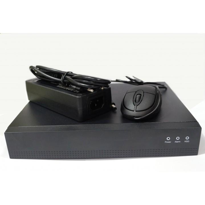 Видеорегистратор NVR POE Vandsec VN-3108P до 5Mp 1Sata port (9-ти канальный IP)