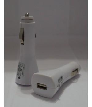 АЗУ USB (белый.черный) 1A
