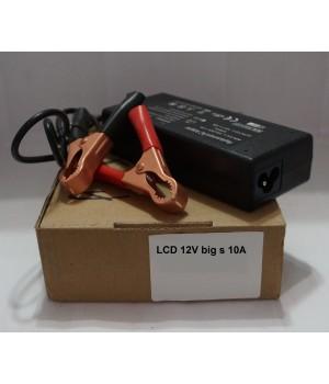 Блок питания LCD 12v big s 10A 200 Источник питания с зажимами
